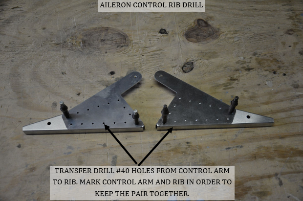 Aileron Control Rib Assembly